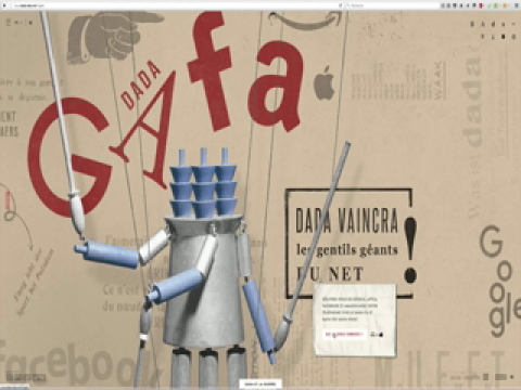 Dada-Data, David Dufresne, Anita Hugi, Vidéo 1