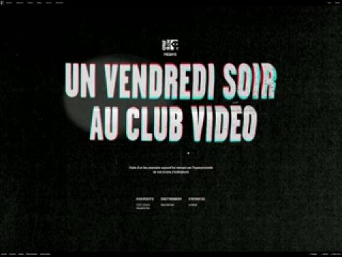 Un vendredi soir au club vidéo, Cédric Chabuel et Alexandra Viau, Vidéo 1