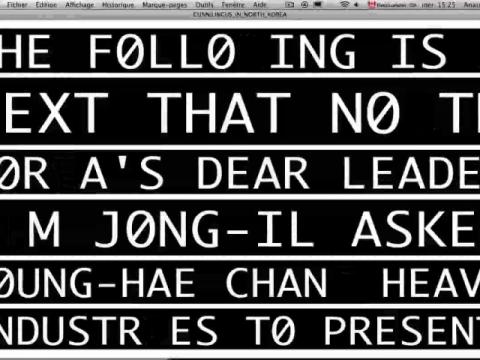 Cunnilingus in North Korea (navigation filmée #1)
