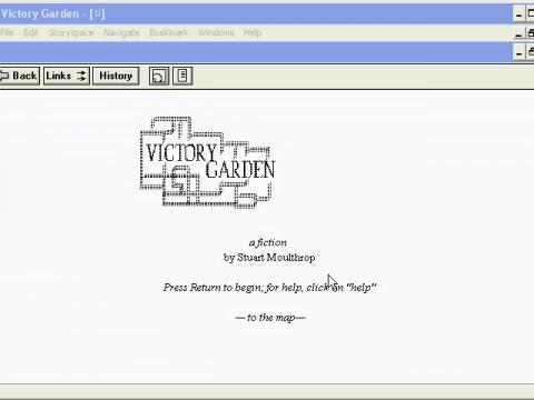 Victory Garden (navigation filmée #1)