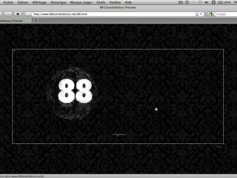 88 Constellations for Wittgenstein (to be Played with the Left Hand) (navigation filmée #1)
