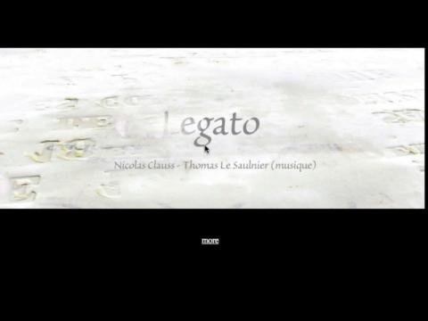 Legato (navigation filmée #1)