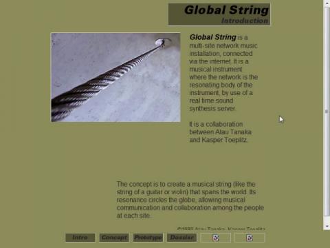 Global String (navigation filmée #1)