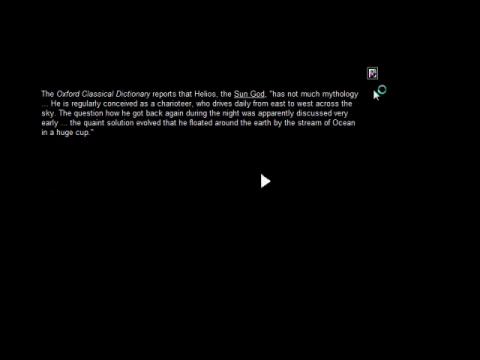 Simple Harmonic Motion Or, Josephine Baker in the Time Capsule (navigation filmée #1)