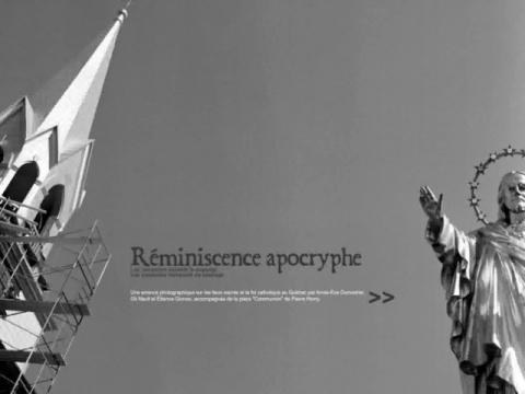 Réminiscence apocryphe (navigation filmée #1)