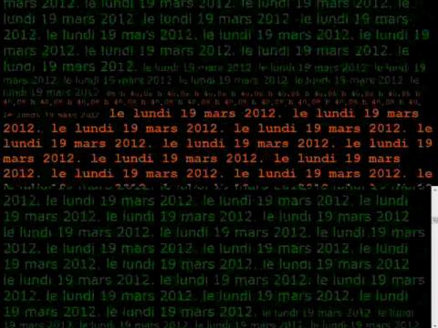 Proposition de voyage temporel dans l'infinité d'un instant 2.0 (navigation filmée #1)