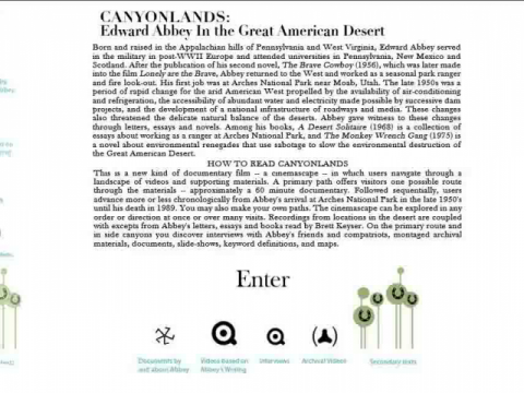 Canyonlands: Edward Abbey In the Great American Desert (navigation filmée #1)