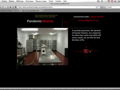 Pandemic Rooms (navigation filmée #1)